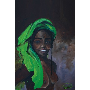 Tableau Africa Girl