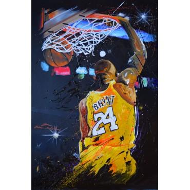 Tableau déco : Basket Lakers