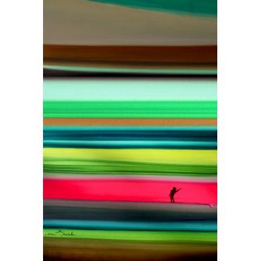 Tableau Surf the line par Rémi Bertoche