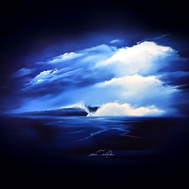 Tableau The Blue cool par Rémi Bertoche