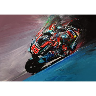 Tableau déco GP moto Fabio Quartararo