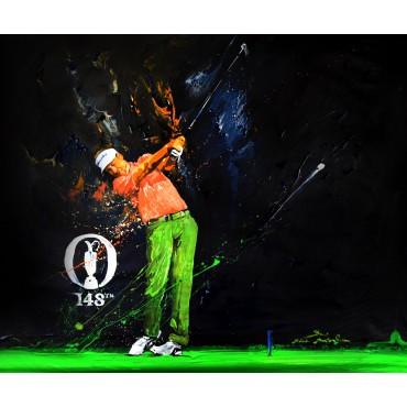 Tableau décoratif de golf : Ian Poulter