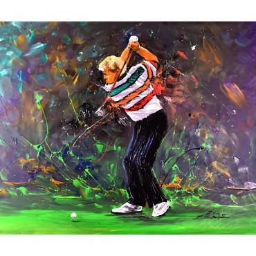 Tableau de golf déco : John...