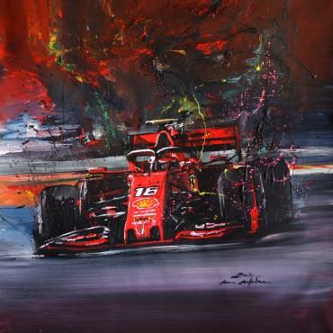 Tableau F1 (Formule1) Charles par Rémi Bertoche