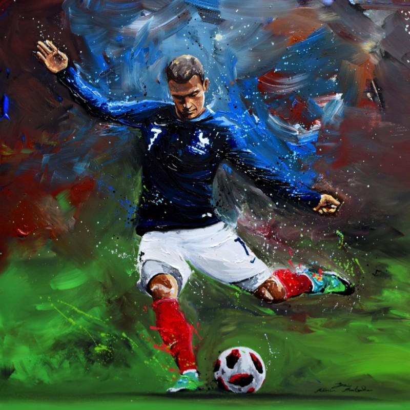 Tableau Foot AG par Rémi Bertoche
