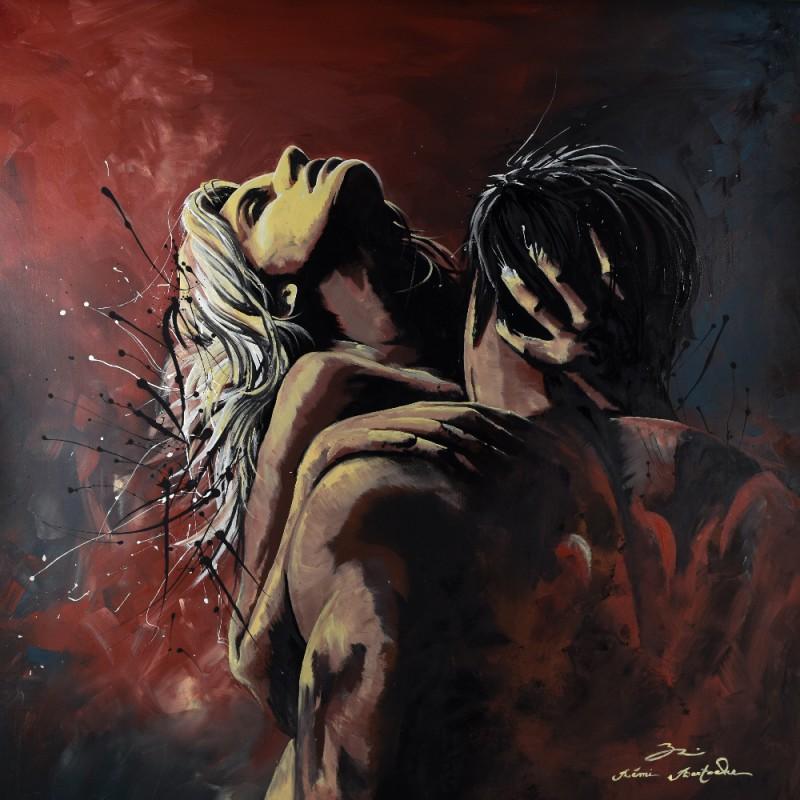 Tableau Love is all par Rémi Bertoche