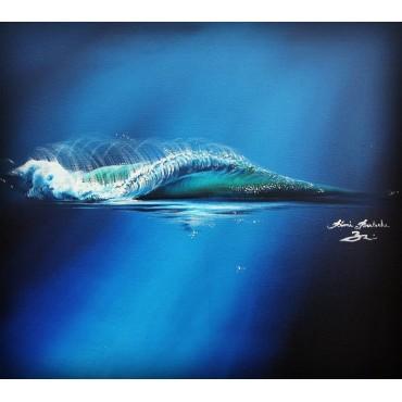 Tableau My Lovely Blue par Rémi Bertoche