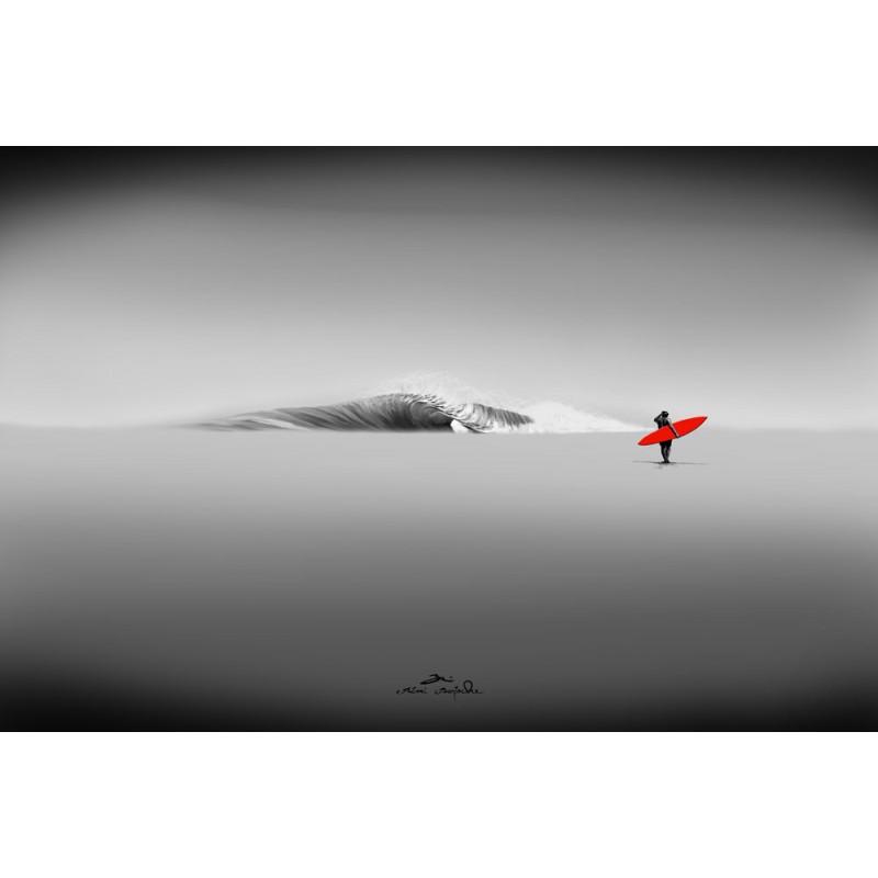 Huile sur toile Re Board Right par Rémi Bertoche