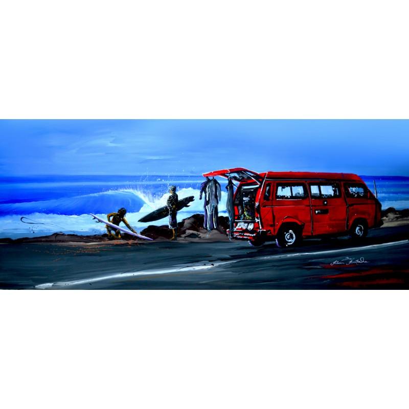 Tableau panoramique California Trip par Rémi Bertoche