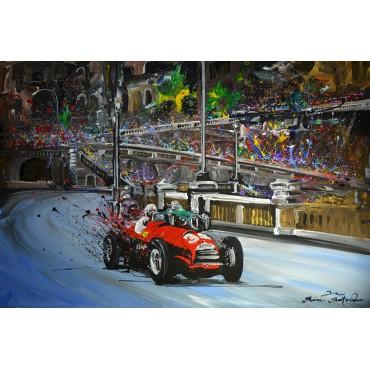 Tableau Vintage Racing par Rémi Bertoche