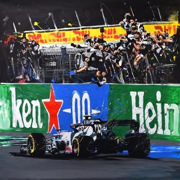 Tableau F1 Monza par Rémi Bertoche