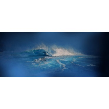 Tableau Glassy wave par Rémi Bertoche