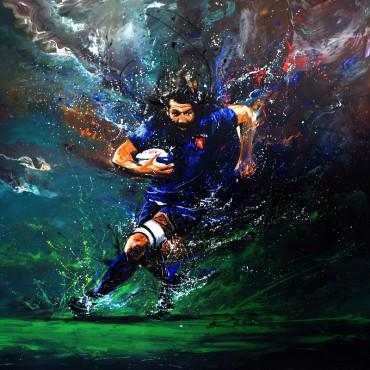 Tableau Rugby Legend par Rémi Bertoche