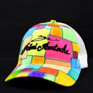 casquette personnalisée abstract colors