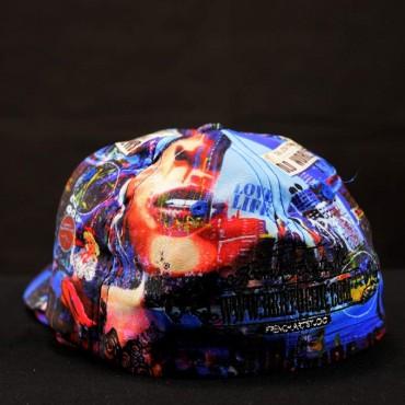 casquette personnalisée print par Rémi Bertoche
