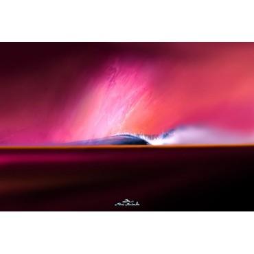 Tableau Sweet Purple par Rémi Bertoche