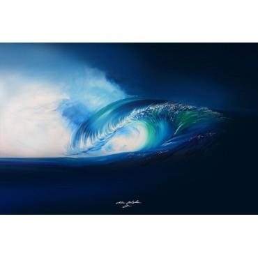 Tableau Blue Harmonie par Rémi Bertoche