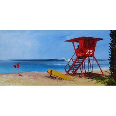 Tableau Beach Life par Rémi Bertoche