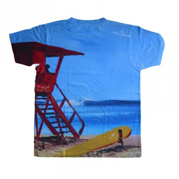 Tee shirt personnalisé Sunset Beach
